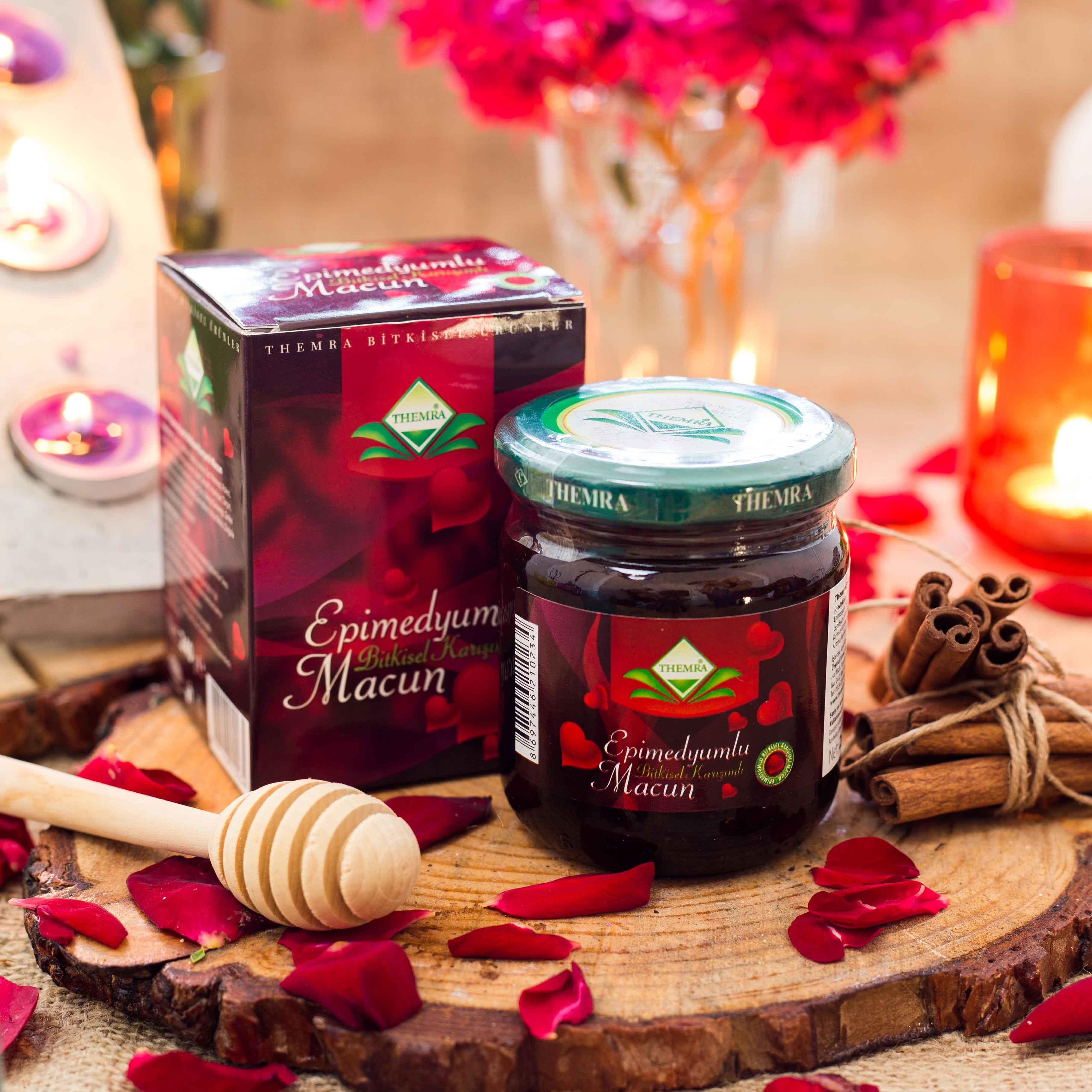 Themra energizing Epimedium honey herbal paste turkish horny goat weed 240Gr X 3 Box
