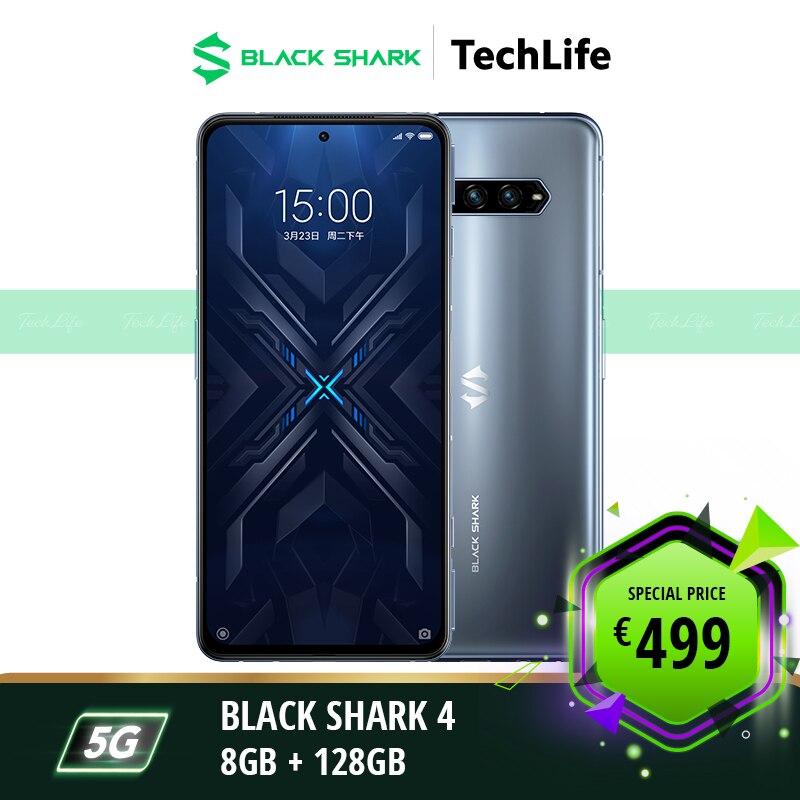 [EU Version] Black Shark 4 128GB Rom 8GB Ram Gaming phone Smartphone Mobile blackshark4 enlarge