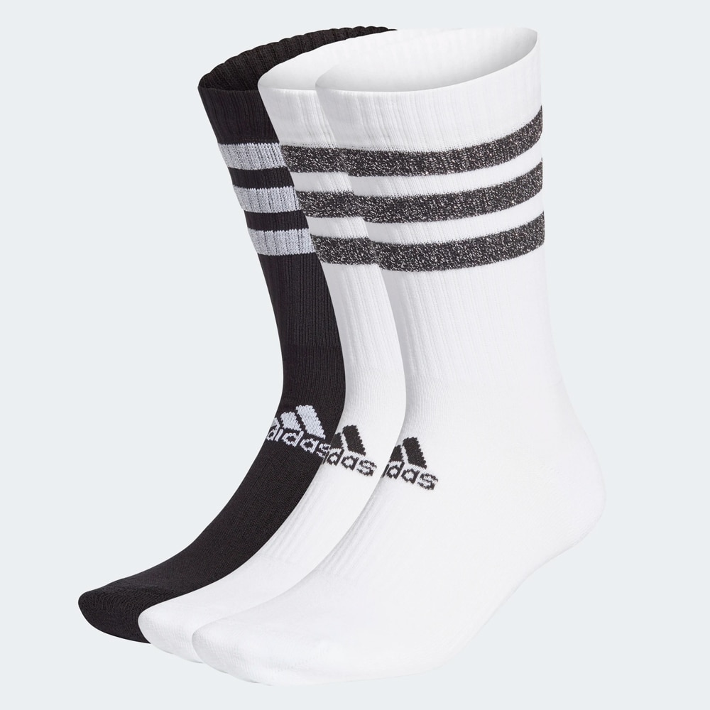 Adidas-classic socks-3 pairs of different colors and 3 bands, Sport-classic long, sports style socks