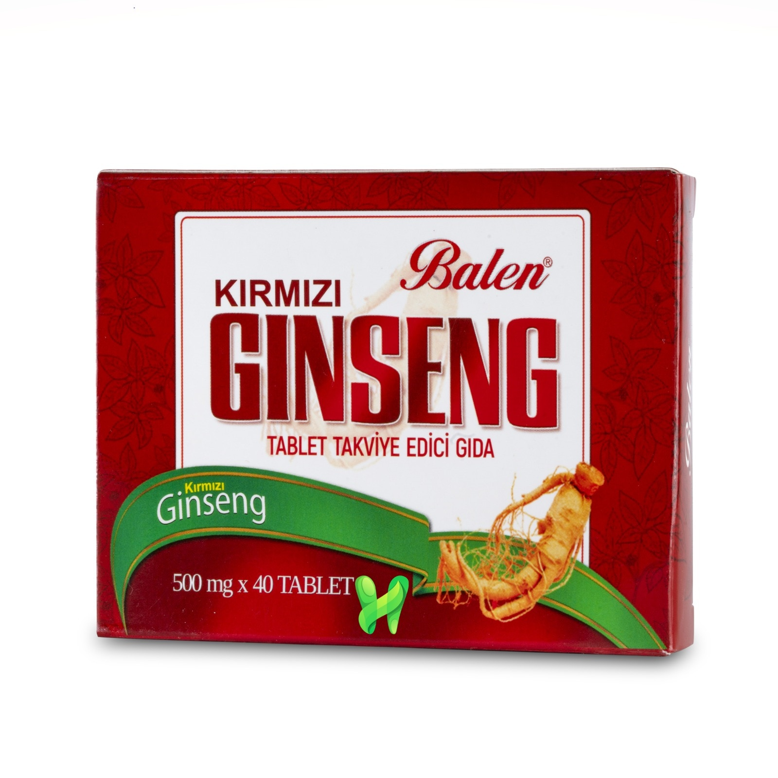 Korean Red Ginseng, for More Energy, and for better Sexual Ability, Thinking Skills, and Health, 40 Tablets, 500 mg