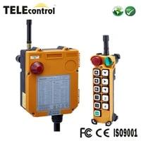 telecontrol ten single speed industrial cordless eot overhead crane radio remote control f24 10s