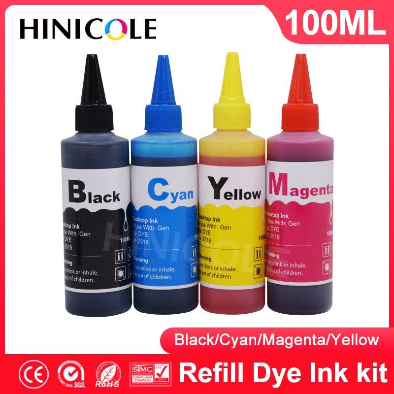 Ciss para Canon Cartucho de Impressora Jato de Tinta Kit de Recarga de Tinta Corante Hinicole pg 540 545 445 440 541 546 446 441 xl Tanque Pg510 Cl511 cl