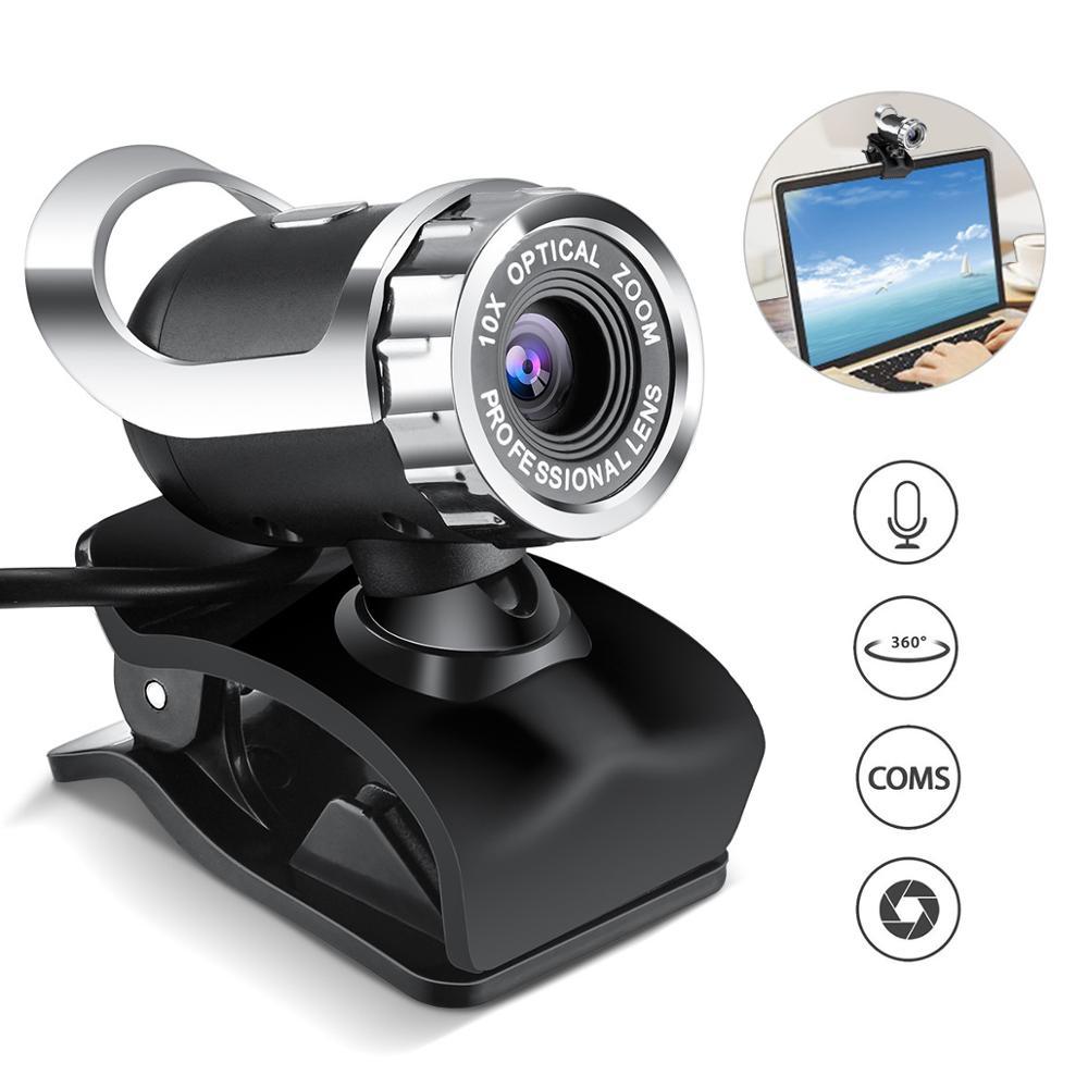 Webcam Video Chat grabación Usb cámara HD inteligente 1080p para escritorio PC portátiles Macbook accesorio de ordenador 30FPS HD