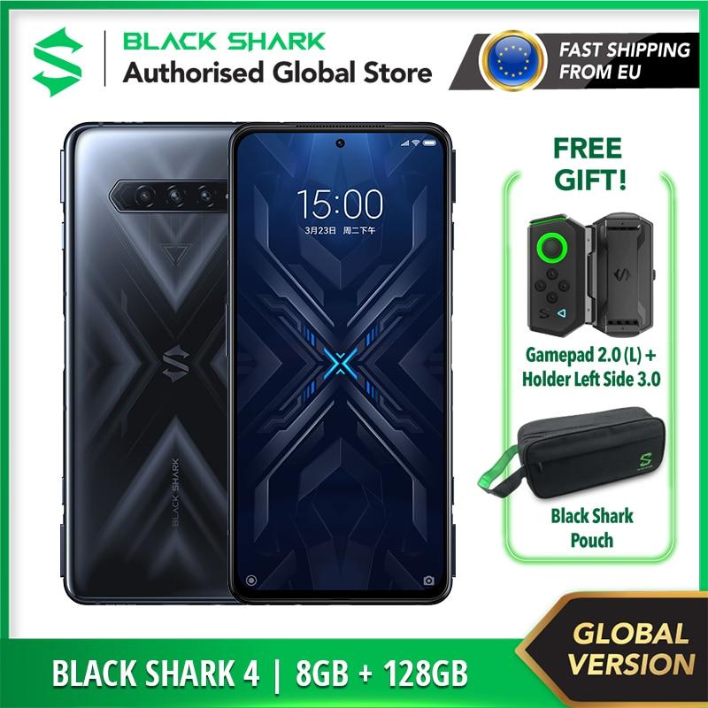 Global Version Black Shark 4 128GB ROM 8GB RAM | Qualcomm Snapdragon 870 / 120W Charging Gaming Phone / Brand New / Sealed