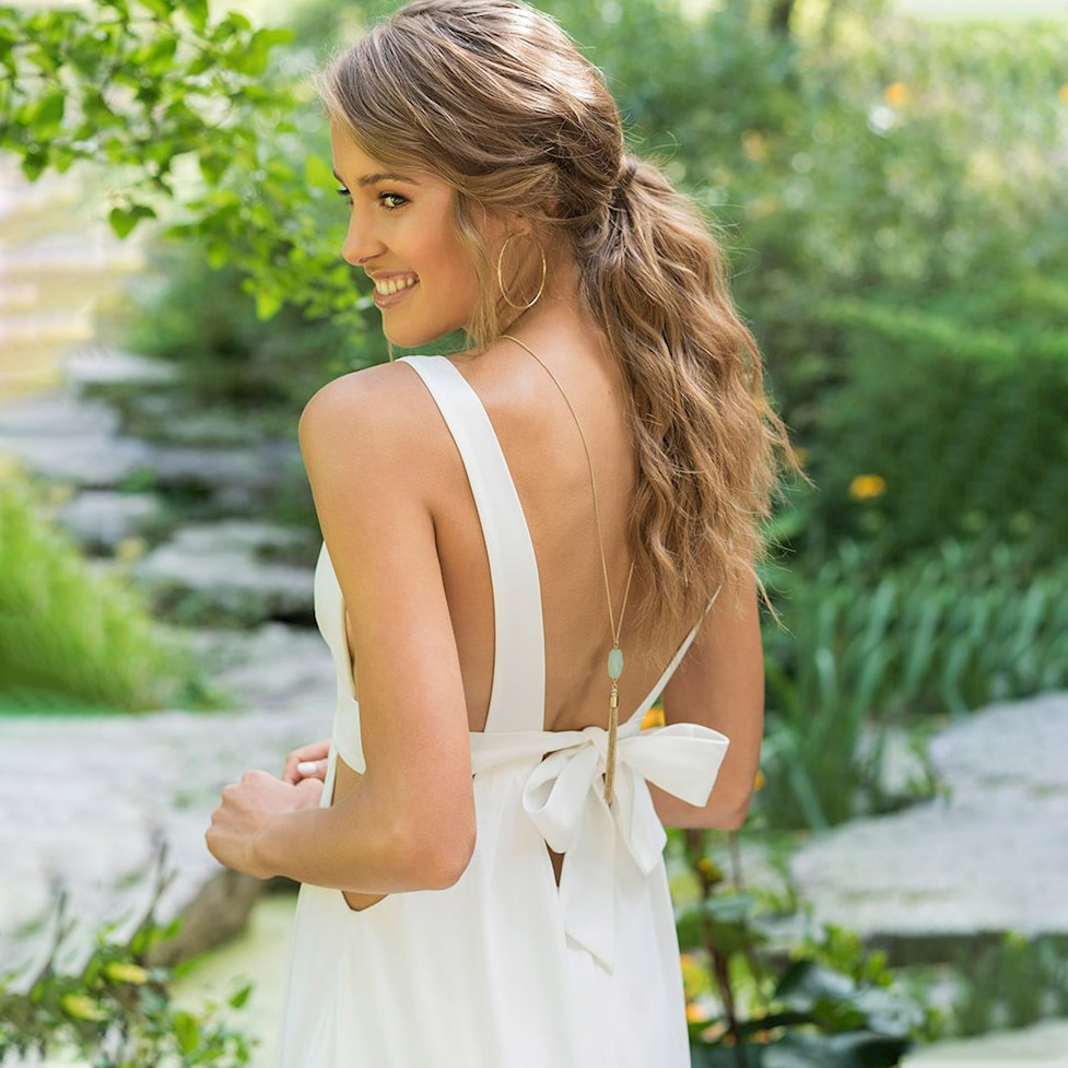 Sexy Bandage A Line Wedding Dress Deep V-Neck Simple Chiffon Backless 2021 Cheap Beach Custom Made Exposed Long Bridal Gowns