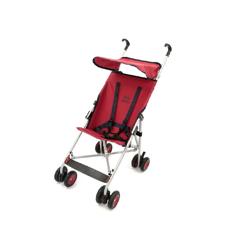 Red Practical Walking Stick Baby Stroller Lightweight Baby Stroller Foldable Lightweight Baby Stroller Newborn Safe Travel Porta enlarge