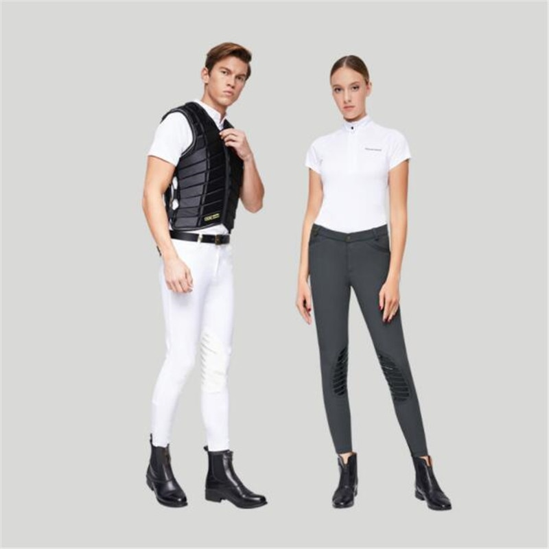 Cavassion Classic Equestrian Anti-Skip Half Silicon-gel Breeches when knight  riding horses protect the legs