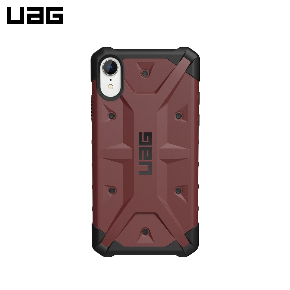 Funda para iPhone XR UAG Pathfinder, funda protectora a prueba de golpes, bolsa resistente a los golpes, funda negra para teléfono móvil para hombre