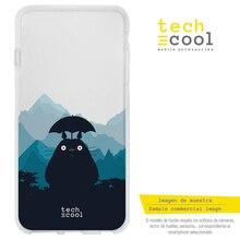 FunnyTech®Etui Silicone pour Xiaomi Mi A3 l mon voisin Totoro design 1 transparent