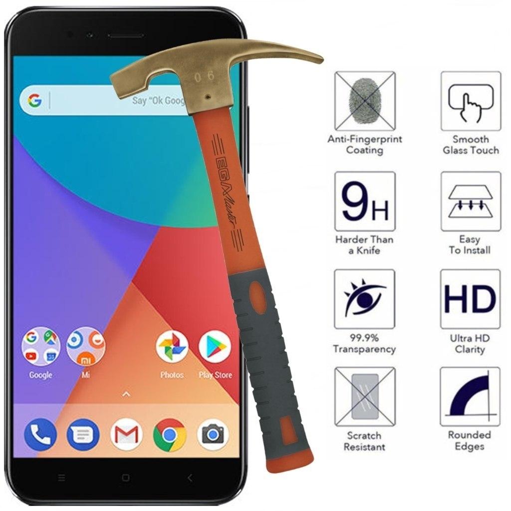 XIAOMI MI A1 / MI 5X / MIA1 / MI5X tempered glass screen protectors mobile phone accessories