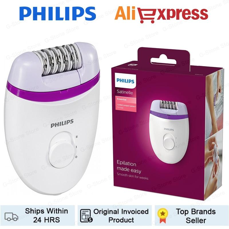 Philips-Depiladora eléctrica ORIGINAL para hombre y mujer, máquina de depilación masculina, maquinilla...