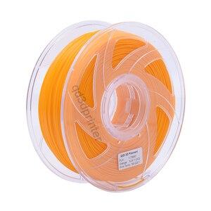 QIDI TECH High Quality Orange Color 3D Printer Filaments Plastic Rubber Consumables Material,1.75mm PLA