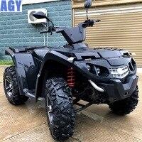 Годный квадроцикл с инжекторным двигателем на 500 кубов, расход в районе 5 литров, максимальная скорость 110 км/ч, гарантия от завода 3 года