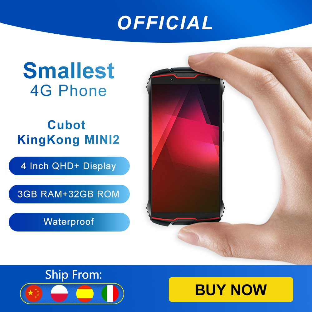 Cubot KingKong MINI2 Rugged Phone 4