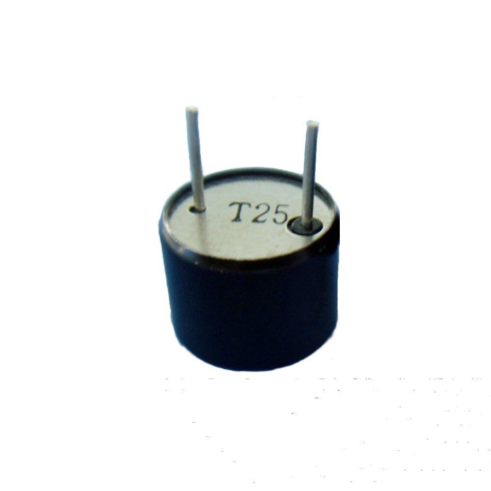 Taidacent 5 pares 16MM Sensor de transductor ultrasónico 25KHz Sonda de transductor ultrasónico transmisor y receptor de Sensor ultrasónico