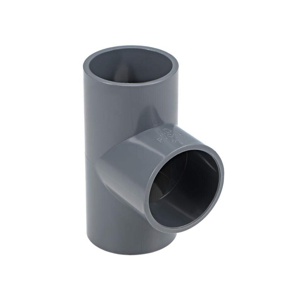UXCELL 10 piezas de conexión de tubería de PVC conector gris reductor de acoplamiento Hub DWV accesorio de tubería para riego y bajo tierra.