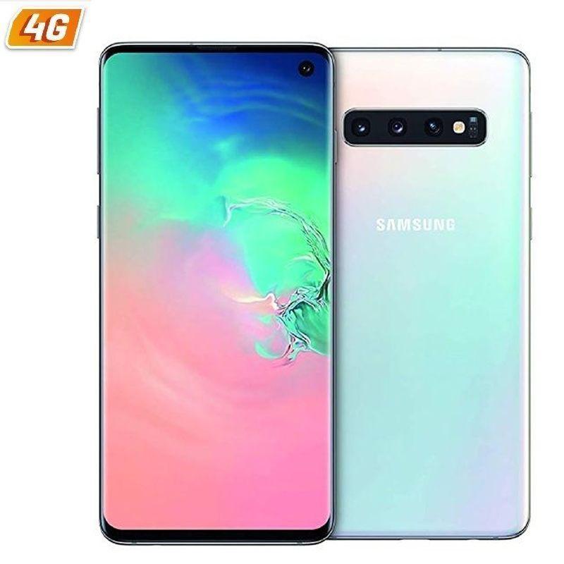 Samsung galaxy s10 branco celular-6.1 /15.4cm - cam (12 + 16 + 12)mp/10mp - exynos 9820 octa - 128gb - 8gb ram - android