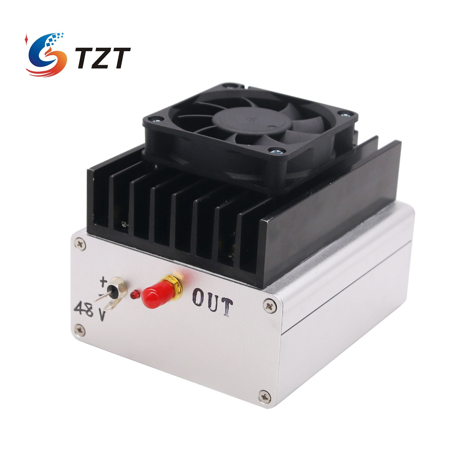 TZT 100kHz-3MHz 50 واط متوسطة طويلة موجة HF RF النطاق العريض مكبر كهربائي أمبير