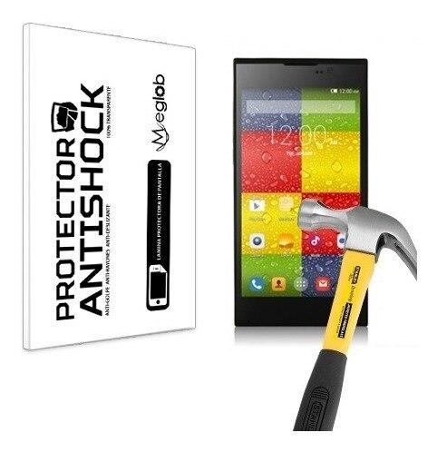 Protetor de tela anti-choque anti-risco anti-quebra compatível com elephone p10c