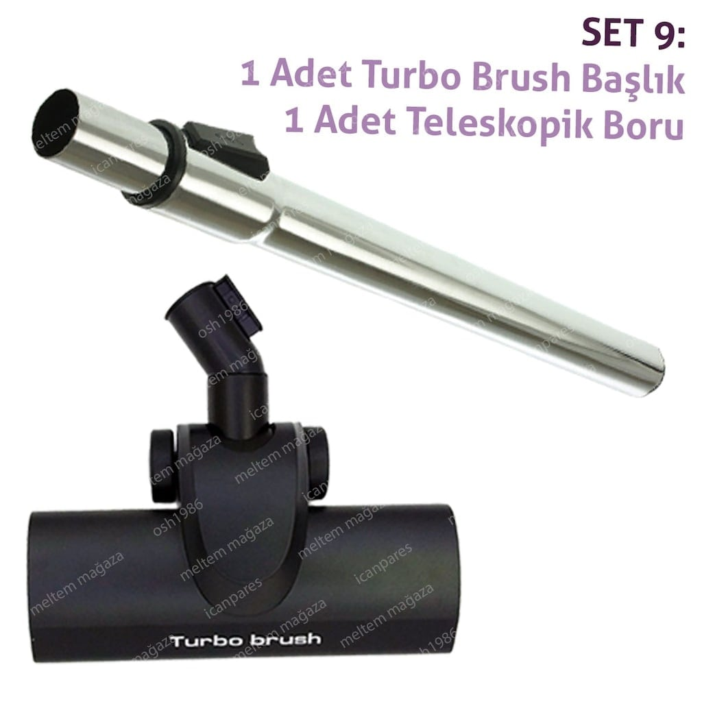 Thomas Smart Touch Comfort aspiradora Turbo Brush tubo telescópico