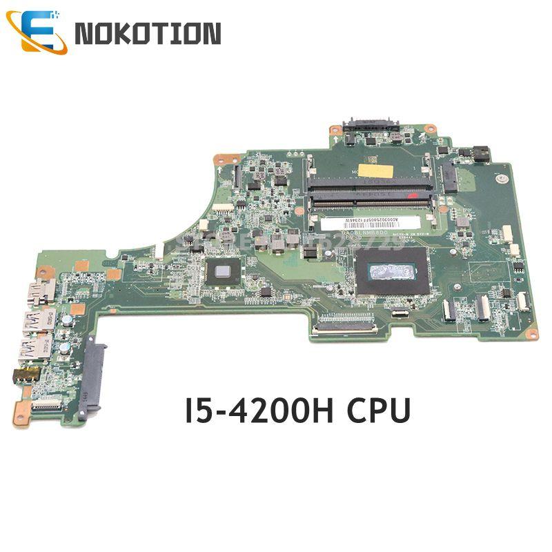 Nokotion a000302580 da0blnmb8d0 placa principal para toshiba satélite S55T-b S55T-b5355 computador portátil placa-mãe sr15g I5-4200H cpu ddr3l