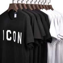 DSQICOND2 DSQ2 Casual T-shirts SYMBOL Gedruckt Männer T-shirt Fitness T-shirts Herren o neck Mann T-shirt Für Männliche T-shirts Freies verschiffen