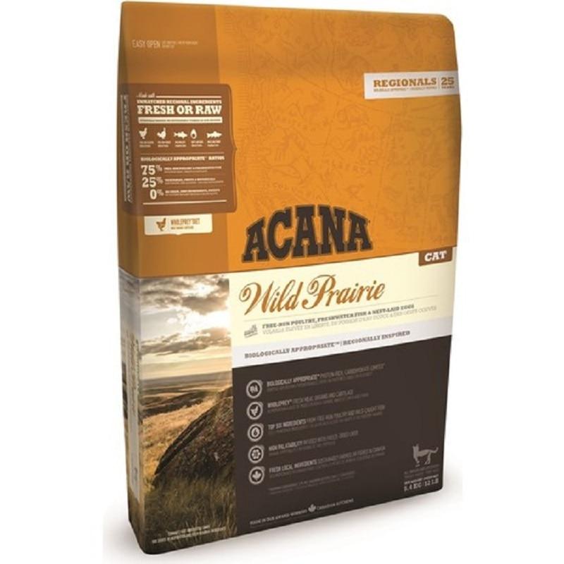 Acana Wild Praire-comida para gatos, pollo y Lago, sin granos, 4,5Kg, crecimiento...