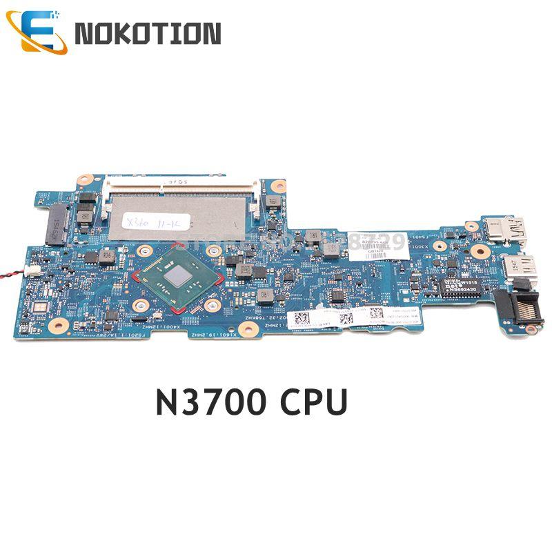 NOKOTION 828895-001 828895-601-14269-1 para HP Pavilion 11-K x360 11-K128CA placa base de computadora portátil N3700 CPU DDR3L