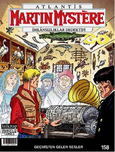 Martin Mystere número 158-sonidos del pasado a Alfred Castelli Lal Comics Series