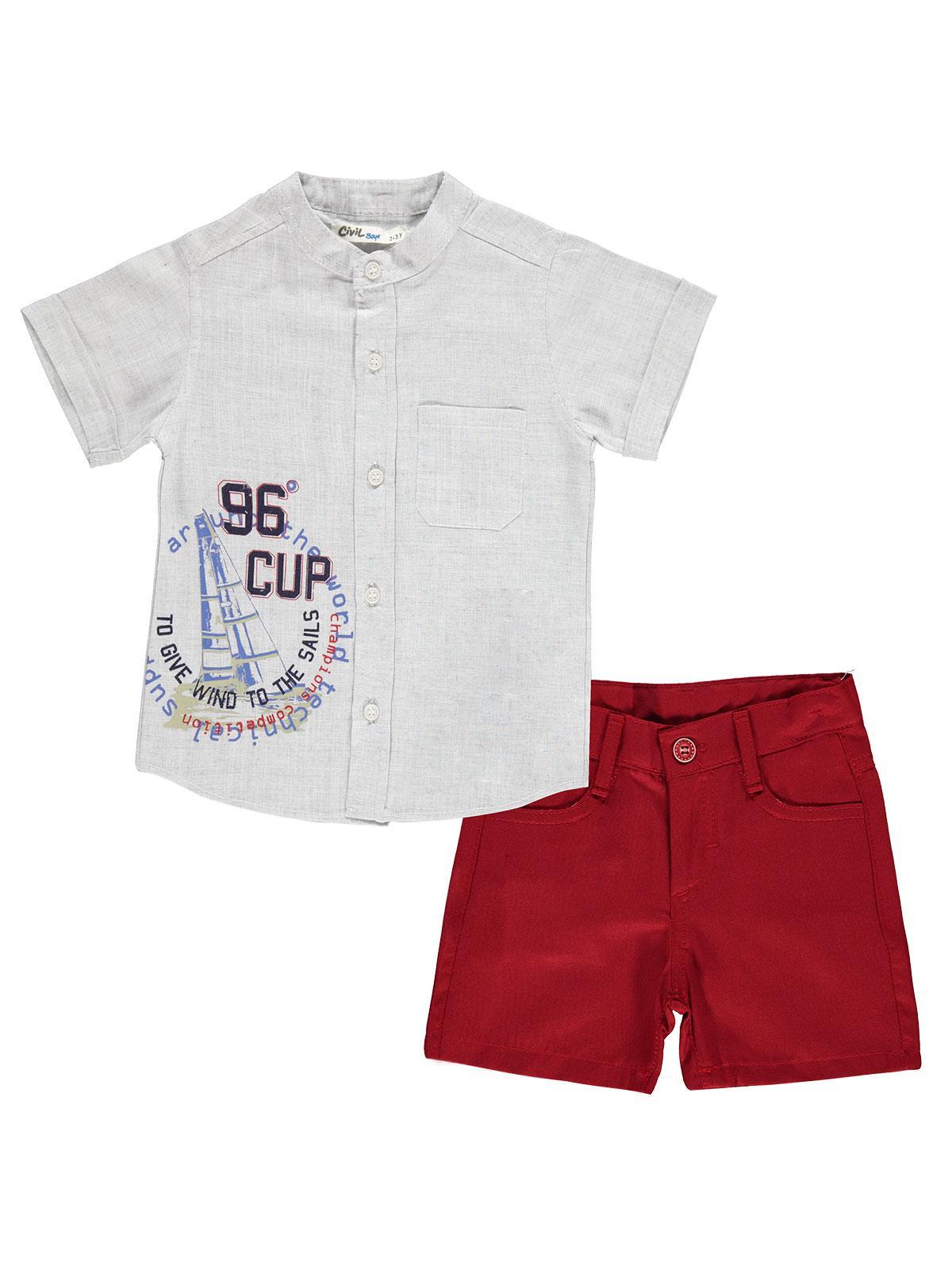 Verano 2020, conjuntos de ropa para niños, niñas, bebés, Camiseta con estampado de dibujos animados + Pantalones, ropa Civil, pantalones cortos para niños, traje de edades a