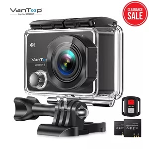 VanTop Moment 3 4K Action Camera Underwater Waterproof Camera  with 170� Wide Angle Outdoor Mini  WiFi Video Sports Mini Camera