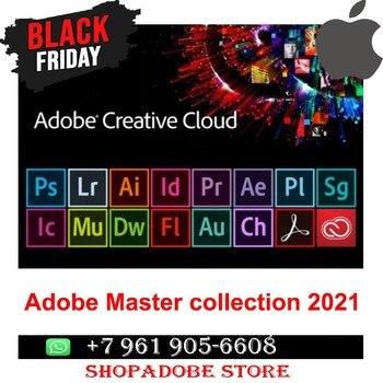Adobe Creative Cloud – Collection Master 2020 sous Windows / Mac OS, Livraison instantanée, préactivée, version originale et complète
