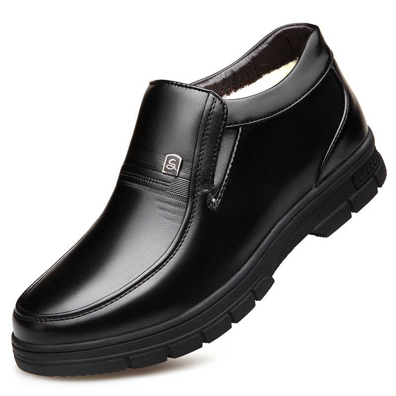 2021 حديثا رجل الشتاء الأحذية جودة ستوكات أحذية من الجلد العلامة التجارية الأبيض الدافئة رشاقته الأحذية الداخلية 38-44 رجل الثلوج الأحذية الجلد...