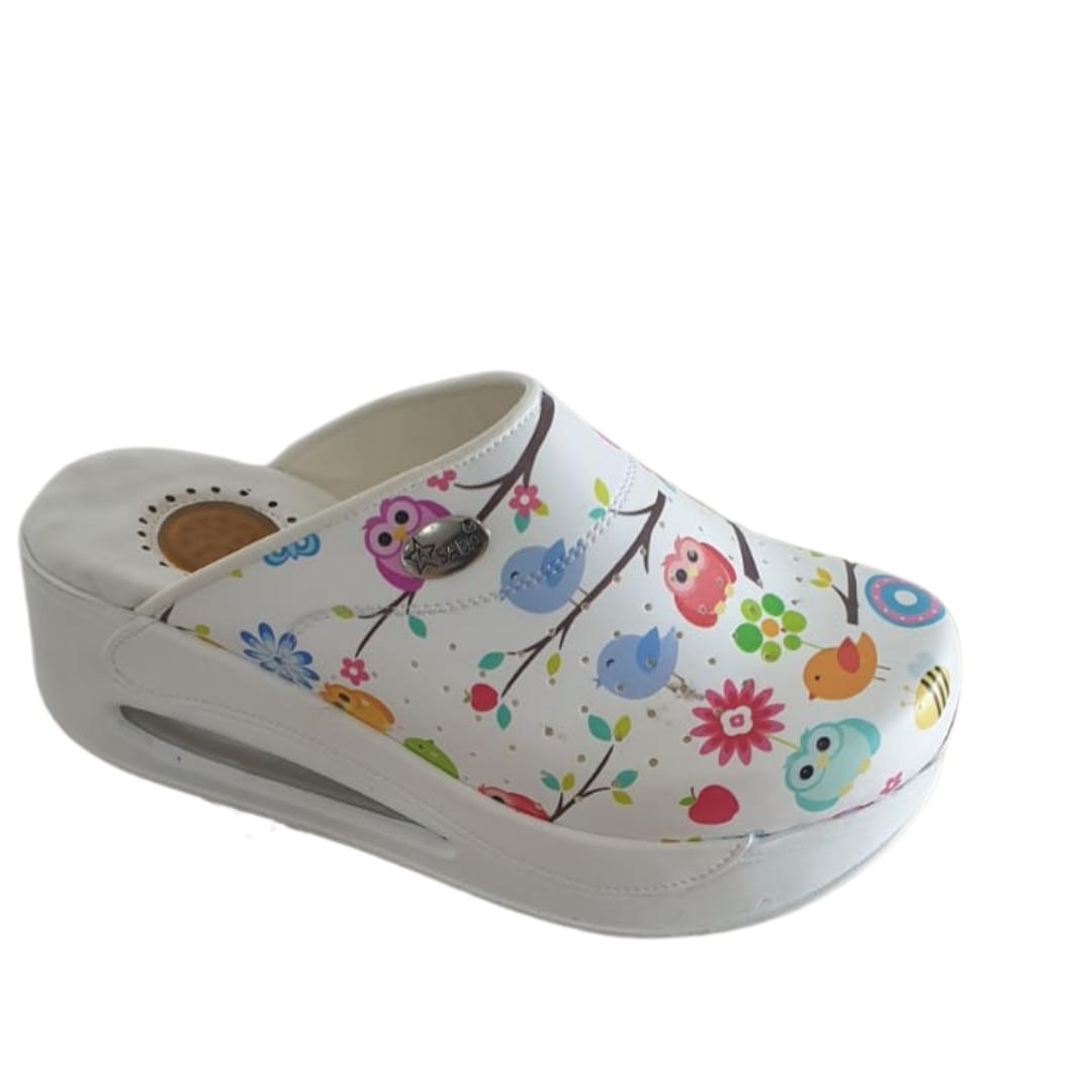 Pantofole ortopediche 2021 Sabo donna confortevole infermiera medico ospedale cuoco qualità del lavoro sandali medici scarpe con plateau estate