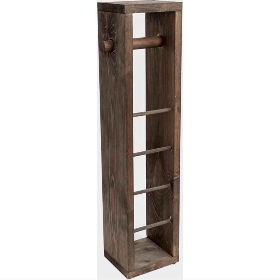 عالية الجودة-خشبي المرحاض مسند ورقي مناديل حمام خشبية حامل رف الحمام رفوف الحمام