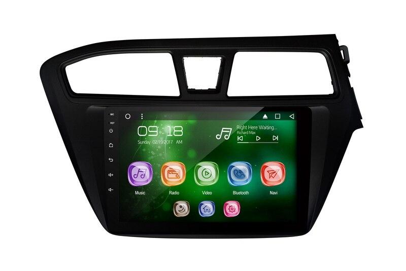 "Allways pantalla IPS de 9 ""Android 9,0 octa-core Ram 2GB Rom 32GB Car Multimedia para Hyundai I20 (RHD) 2012-con pantalla táctil 2.5D"