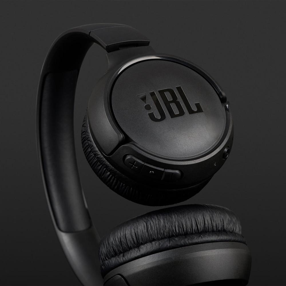 JBL T500BT Original Wireless Bluetooth Headphone Deep Bass Sound Sports Game Headset with Mic Noise Canceling Foldable Earphones enlarge