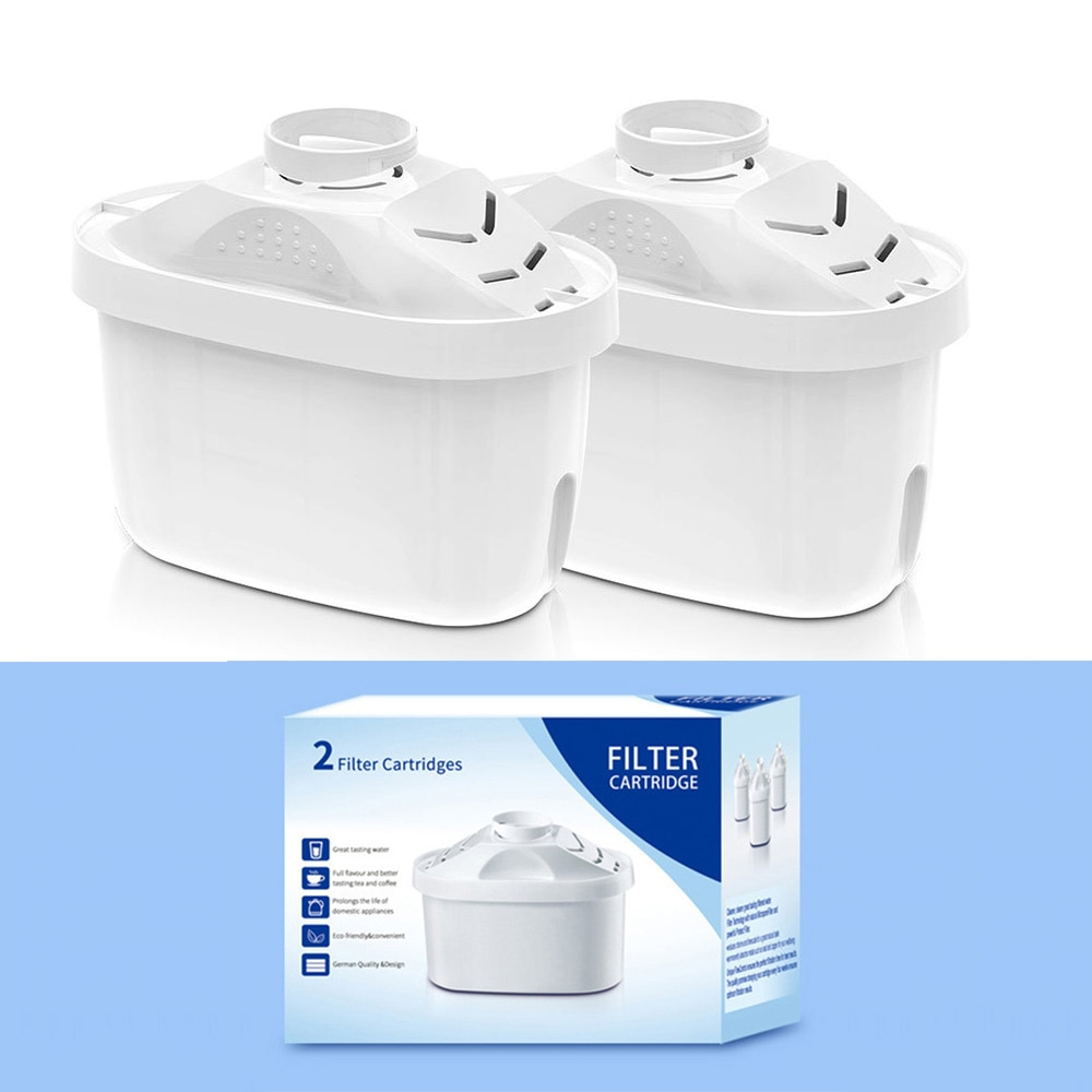 2pcs Replacement Water Filters For Kettle Household Pitcher Activated Carbon Purifier Filter