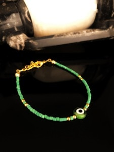 Dr Stone Natural Stone Women 'S Turquoise Stone Gold Plated Bracelet KRB41 439746823