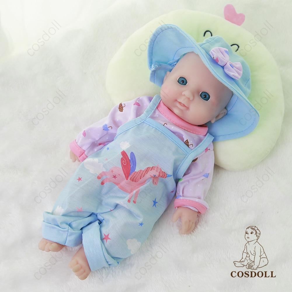COSDOLL reborn doll 31cm 1.3kg 100% Silicone bebe reborn doll realistico giocattolo per bambini per bambini giocattoli per bambini regali per bambini bebe baby #09