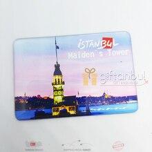Istanbul Turkey Galata Taksim Hagia Sophia  Fridge Magnet Creative Refrigerator Magnet Travel Souvenirs Home Decoration
