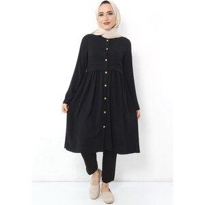 Hijab World Front Pockets Hijab Tunik