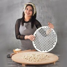 Ravioli Maker Making Pastry Dough Press Manti Kitchen Tools Mould Pelmeni Pastry Ravioli Mold Dumpling Cuisine DIY Wrapper 200 Hole