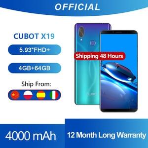 Cubot X19 смартфон Helio P23 Восьмиядерный 5,93