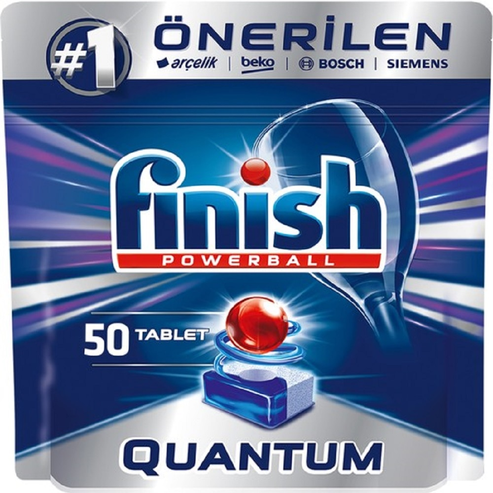 FREE SHIPPING 100 pcs Finish Quantum Powerball Dishwasher Detergent Dish Cleaner Tabs Cleaning Dishwashing Concentrate Tablet enlarge