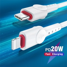 PD 20W USB C Cable for iPhone 12 Pro Max 18W Fast Charging for iPhone 11 XR Charger Cable for MacBoo