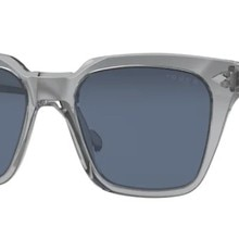 Vogue 5380 S 282080 50 Wayfarer Sunglasses, Transparent Grey Frame, Grey Gradient Lenses,High Qualit