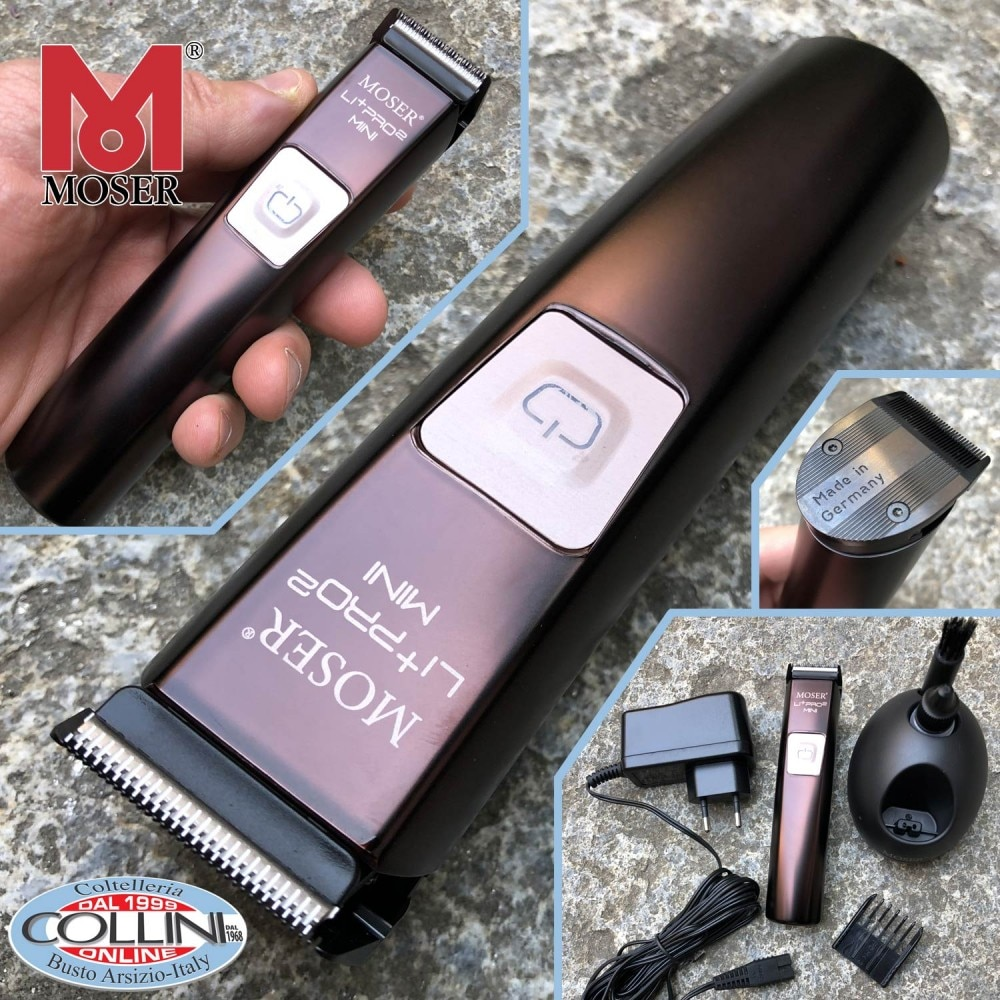 MOSER 1588 LI+PRO 2 Mini 3 Speed Professional Cordless Hair Trimmer 1588-0050 Dual Voltage 100-240V by MOSER