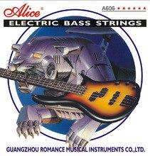 A606(4)-kit de cordes M pour guitare basse, nickel, 45-105 [10] Alice