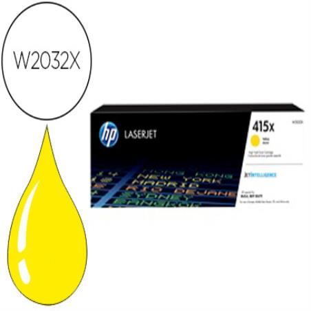 Toner hp 415x laser color m454 / mfp m479 amarillo 6000 paginas 156601-W2032X